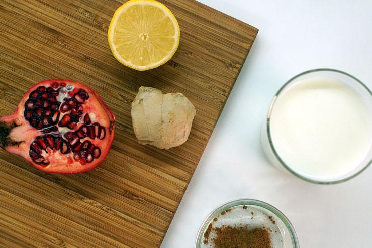 Ingwer Kefir Drink - Köstliches Rezept mit Milchkefir - Zutaten - ganz einfach einen leckeren Drink mit Milch Kefir und Ingwer herstellen - Lecker, gesund und einfach gut.