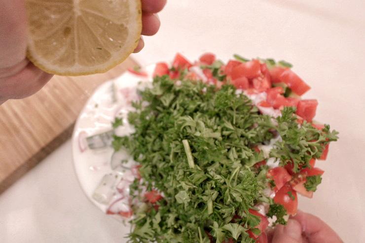 Kefir Gurken Suppe - Ein sommerlich erfrischendes Kefir Rezept - die Zitrone
