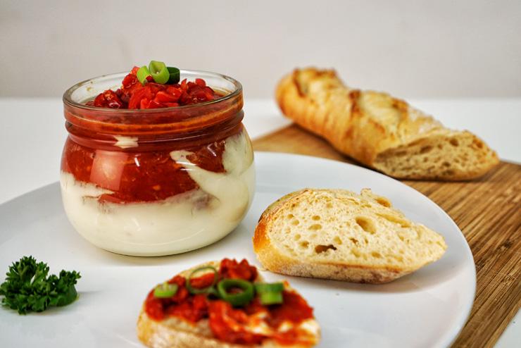 Kefir Tomaten Brotaufstrich - ein selbstgemachter Brotaufstrich