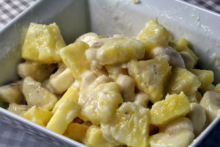 Kefir Bananen Ananas Dessert - ein selbstgemachter Traum mit Milchkefir - Der Mix