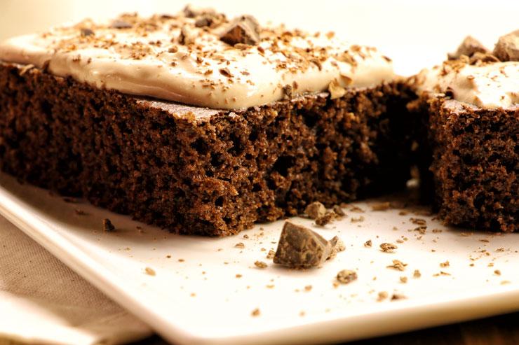 Kefir Schoko Kuchen- ein saftiger Milchkefir schoko Genuss - Titelbild