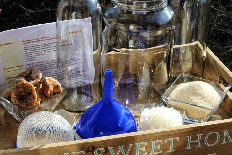 Wasserkefir selber machen - Kefir Komplettset