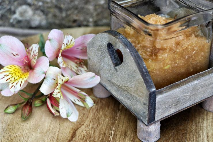 Water kefir apple cream - a tasty kefir recipe with cinnamon - main picture