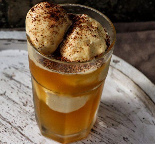 Kombucha Eiskaffe - Kombucha Kaffee selber fermentieren - Hauptbild