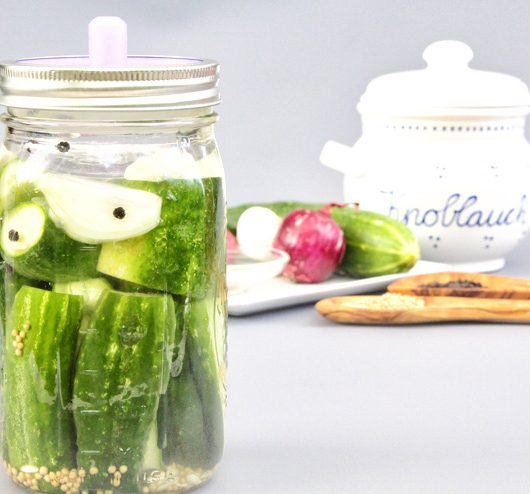 Fermented cucumbers - an easy fermentation instruction - fermented cucumbers