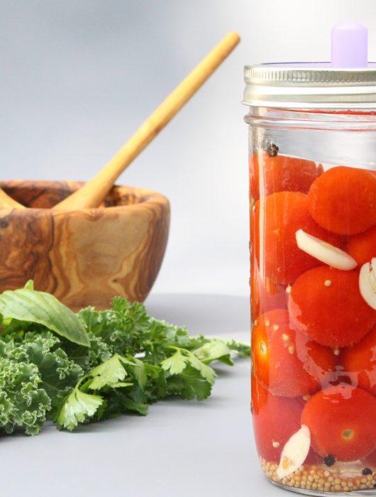 Fermentierte Tomaten – einfache Anleitung zum selber fermentieren- Hauptbild