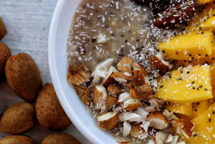 Milk kefir mango breakfast – a rich start into day - main picture