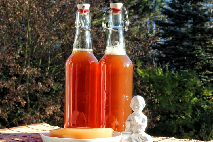 6 strategies for more fizz inside your kombucha drink - fizzy kombucha