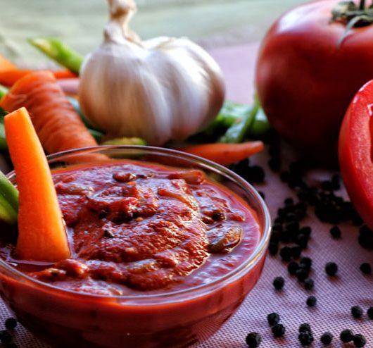 Tomato-Kombucha-Dip – the dip for all occasions