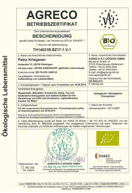Kontrollierte Qualität bei Kombucha, Kefir -Wasserkefir & Milchkefir ...