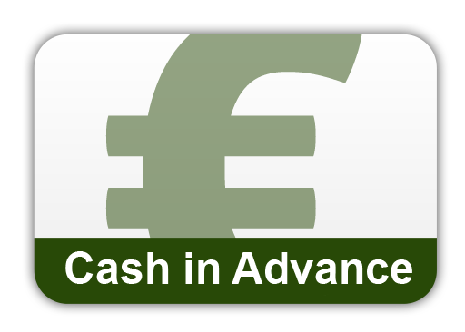 Pay with Cash in Advance