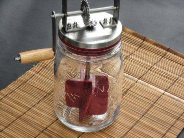 1 kilner butterfass um einfach selber butter zu machen natural kefir drinks. Black Bedroom Furniture Sets. Home Design Ideas