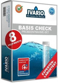 Water test | Water analysis set BASIS - The affordable water quality check