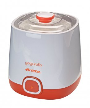 Do you want to make probiotic yoghurt / natural yoghurt yourself at home? Here you can buy or order the Yogurella 621 yoghurt maker from Ariete online. With this yoghurt maker, you can make homemade yoghurt even easier and more convenient.
