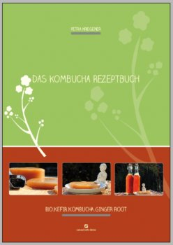 Wonderful Kombucha recipe e-book (80 pages) with the best recipes (German version)