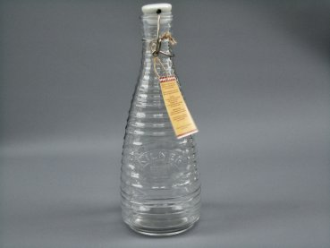 High quality kilner bottle with swing top - 850ml for water kefir and kombucha