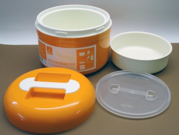 My.Yo yoghurt maker without electrical power mandarin + 2 Sachets Organic Ferment