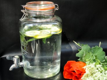 High quality 5 litre kilner drink dispenser / glass / jar / fermentation tank / vessel -  5000ml