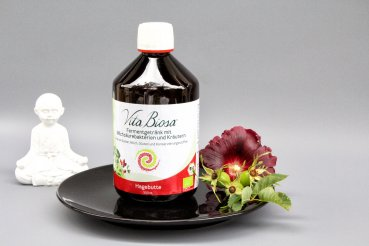 Vita Biosa ROSEHIP 500ml in Organic Quality - Fermented Drink with lactic acid bacteria and herbs