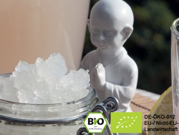 Organic water kefir drink with live kefir crystals to make 2 litre kefir (including 60g japanese water crystals)