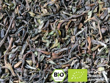 "100g Organic Darjeeling TGFOP-I ""Risheehat"" - A very special full-flavoured and sweetly"