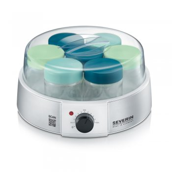 Do you want to make probiotic yogurt / natural yogurt yourself at home? Order the yogurt maker from Severin JG 3525 online here. With this yogurt maker you can make homemade yogurt even easier and more convenient.