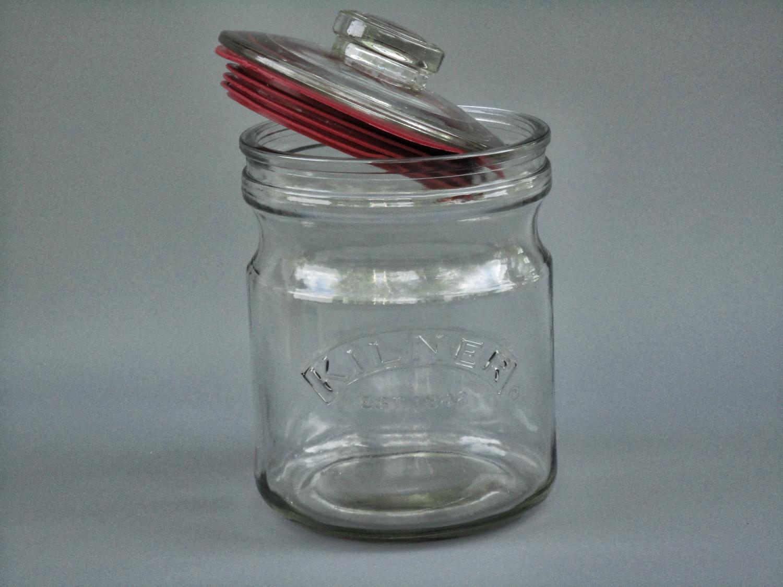 1 kilner vorratsdoese 1000 ml zur aufbewahrung von zucker trockenfr chten oder s igkeiten. Black Bedroom Furniture Sets. Home Design Ideas