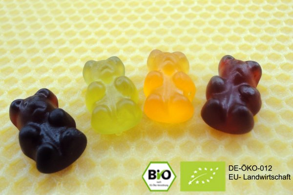 Here you can buy organic jelly babies without gelatine online